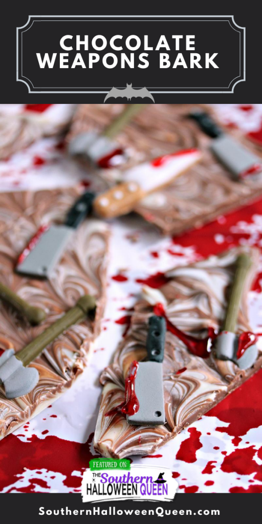 Chocolate Weapons Bark
