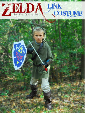 diy zelda link costume