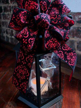 Halloween Lantern Decoration Idea Tutorial