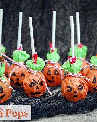 Pumpkin Pops Craft