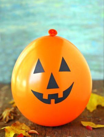 Jack O' Lantern Pumpkin Balloon Pinata