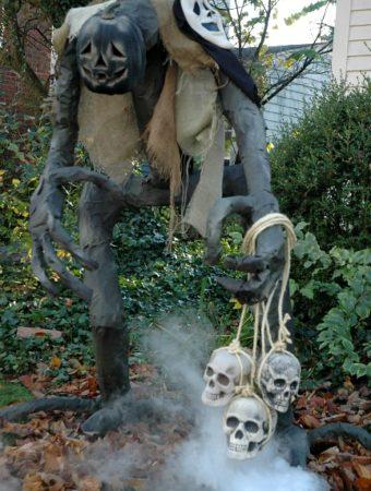 Creepy Grim for Halloween