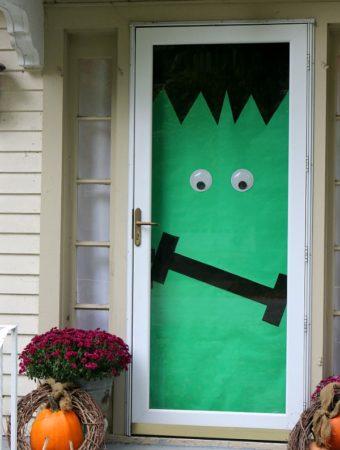 DIY Halloween Doors