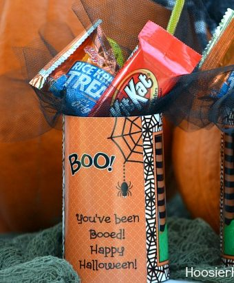 You've been BOOed! Halloween Photo Card and Treats
