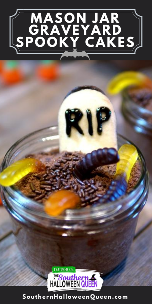 Mason Jar Graveyard Spooky Cakes (3)