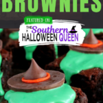 Melting Witch Brownies - Melting Witch Brownies for your Halloween Party? Check! You're going to love how easy these are to make! Great for Halloween or The Wizard of Oz parties!