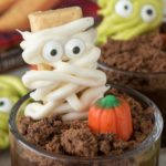 Mummy and Monster Dirt Cups