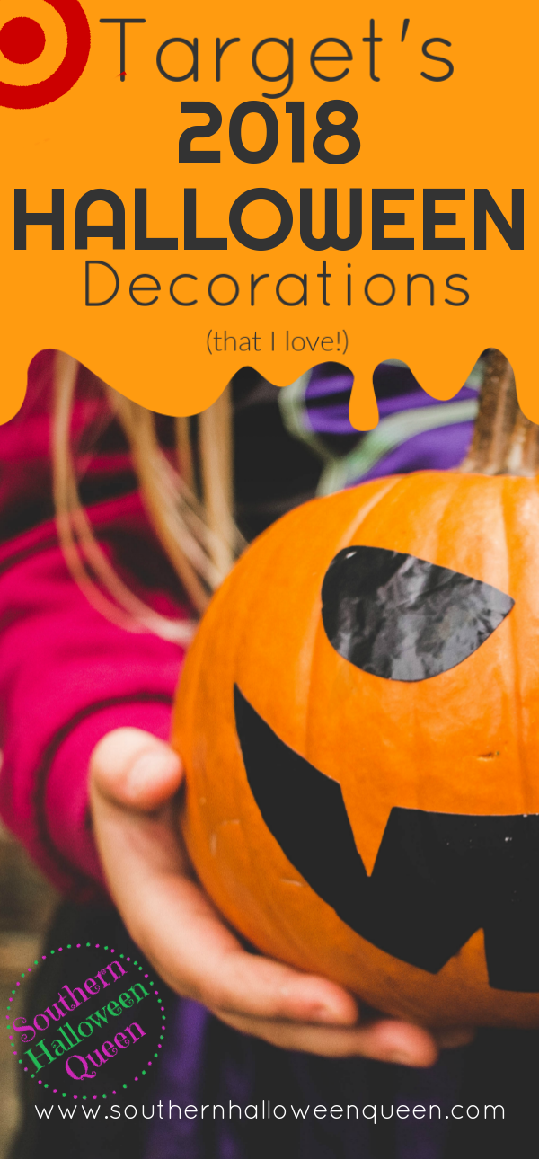Target's 2018 Halloween Decorations that I LOVE - It's time forTarget's 2018 Halloween Decorations! Ready to see what they'll be putting out this year? Here are a few things I loved and links to see the rest! #Halloween #HalloweenDecorations #Target