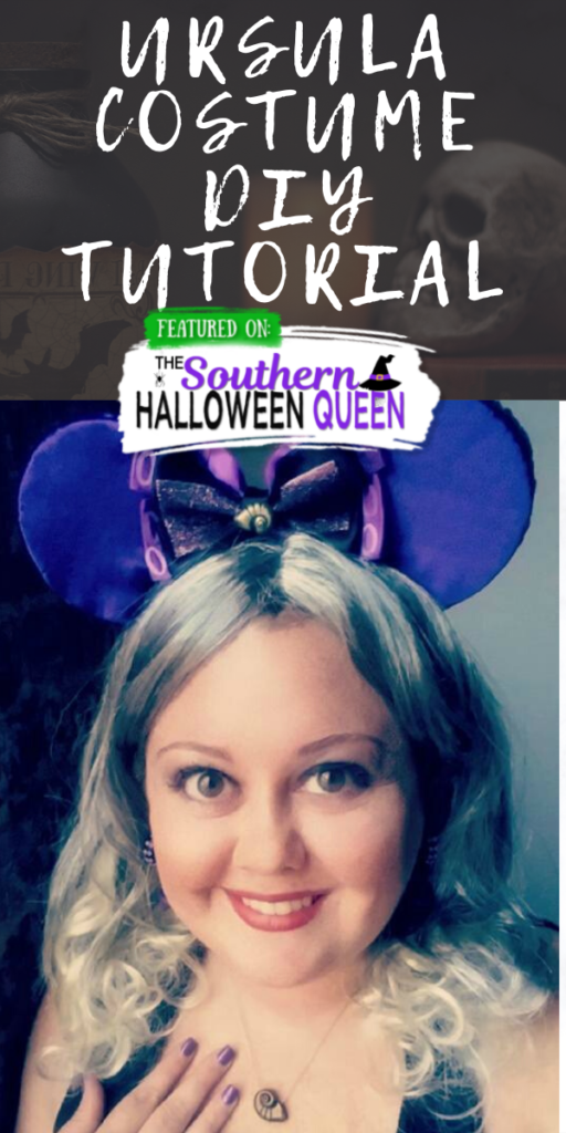 Ursula Costume Diy Tutorial The Southern Halloween Queen