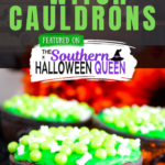 Chocolate Candy Witch Cauldrons