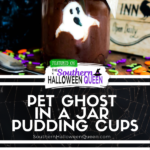 Pet Ghost in a Jar Pudding Cups